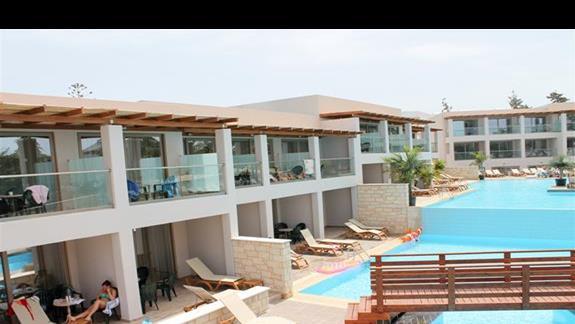 Pokój rodzinny superior widok z balkonu