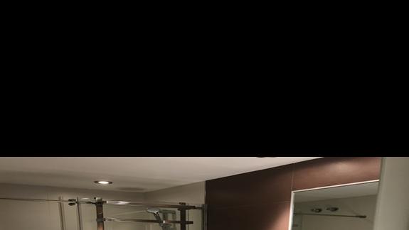 Łazienka pokoju wyremontowanego