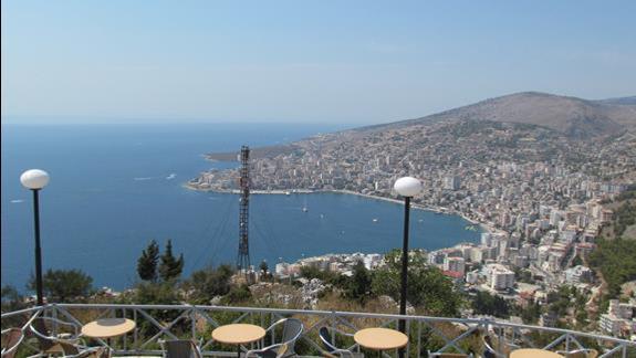 Albania widok ze wzgórza