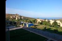 Hotel Menfi Beach Resort - widok z pokoju o poranku