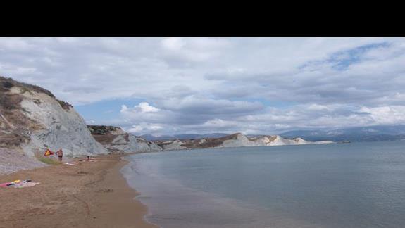 plaża hotelowa - Kounopetra