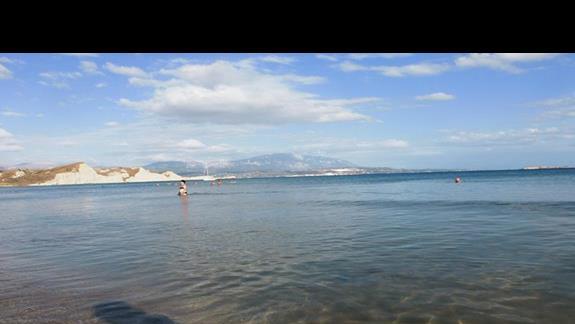 morze przy hotelu