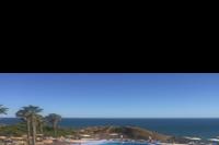 Hotel Auramar Beach Resort - widok z tarasu restauracji