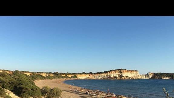 Gerakas Beach - Park Narodowy - żółwie