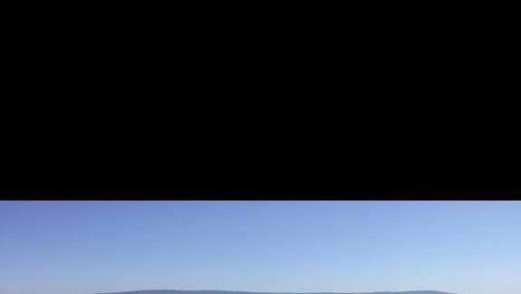 Widok na morze z plazy