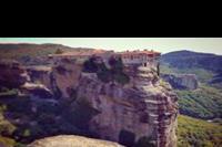 Hotel Kymata - Meteory, klasztory dostępne do zwiedzania na szczytach gorskich