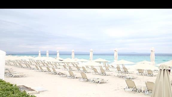 piękna piaszczysta plaża