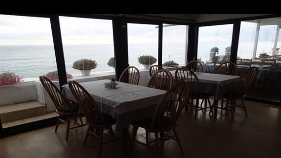 piękny widok z restauracji