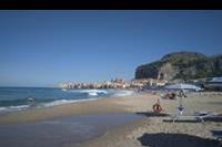 Hotel Santa Lucia le Sabbie D'oro - plaża w pobliżu