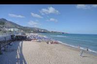 Hotel Santa Lucia le Sabbie D'oro - plaża przy miasteczku