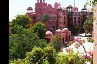 Hotel Red Sea Grand Resort - Widok z balkonu (wg oferty widok na ulicę)