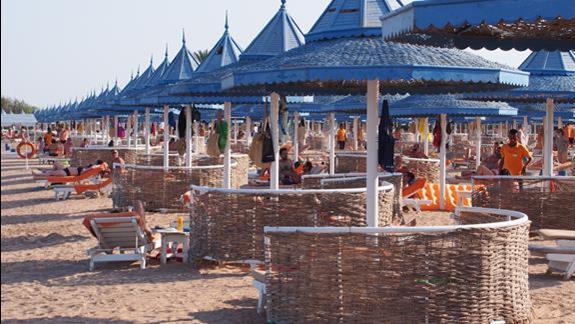 Plaża w hotelu Grand