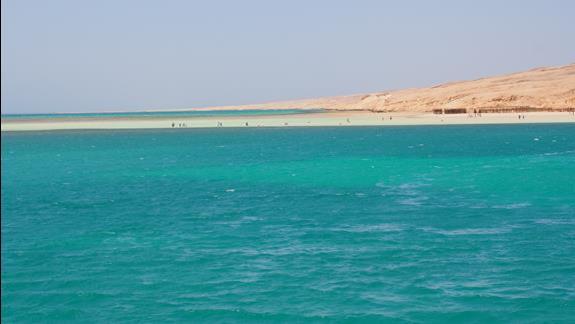 Orange Bay przy wyspie Giftun