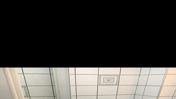 Łazienka w pokoju w hotelu Palatino