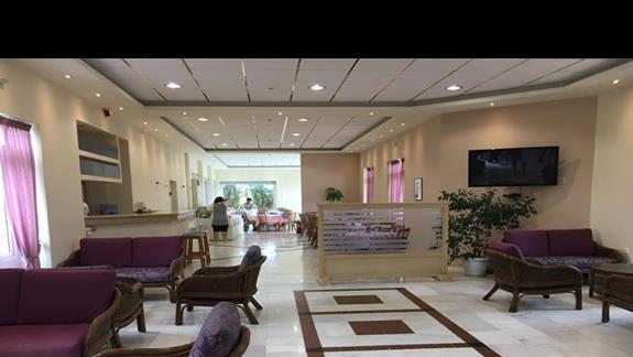 Lobby w hotelu Palatino