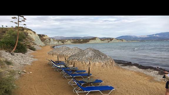 Plaża w hoteu Ionian Sea