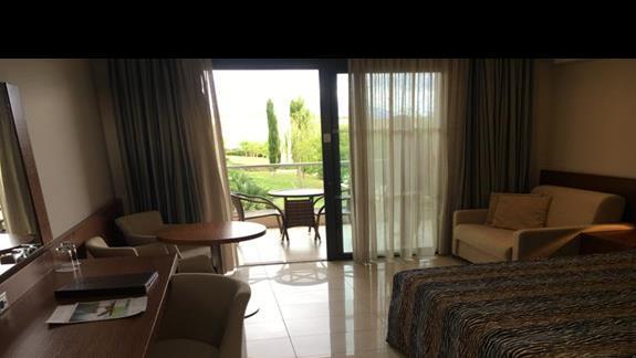 Pokój w hotelu Apollonion Resort & Spa