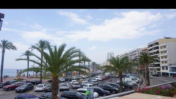 Widok na Lloret de Mar
