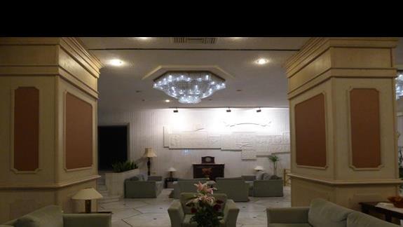 Lobby w hotelu Creta Star