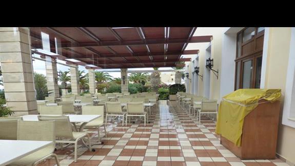 Teren  hotelu Creta Star