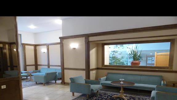Lobby  hotelu Creta Star