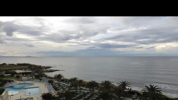 Widok  z hotelu Creta Star