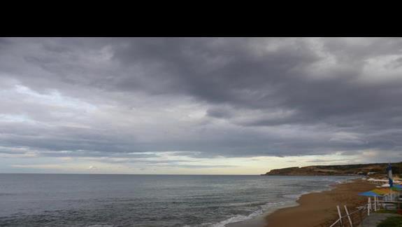 Plaża  hotelu Creta Star