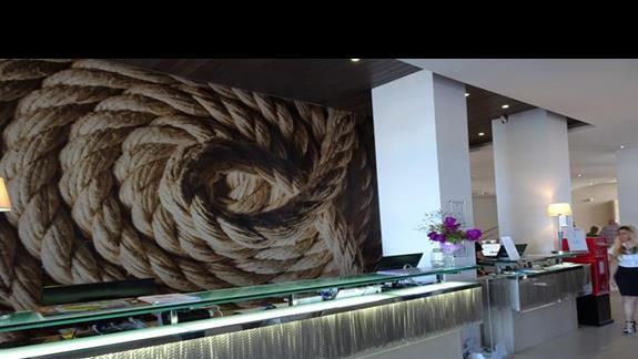 recepcja w hotelu Seabank