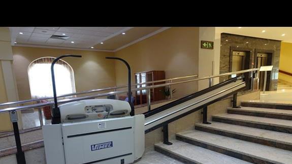 udogodnienia dla niepełnosprawnych w hotelu Paradise Bay