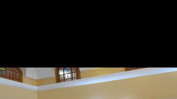 recepcja w hotelu Paradise Bay