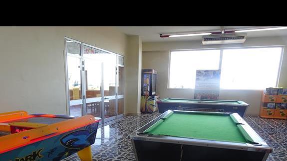 sala gier w hotelu Paradise Bay