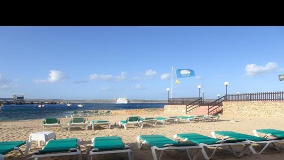 plaża przy hotelu Paradise Bay