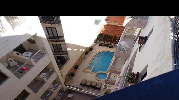 basen w hotelu Soreda