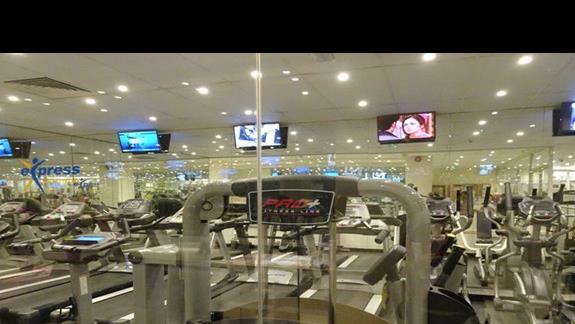 siłownia w hotelu Soreda