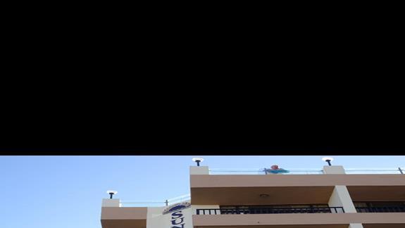 front hotelu Sunflower