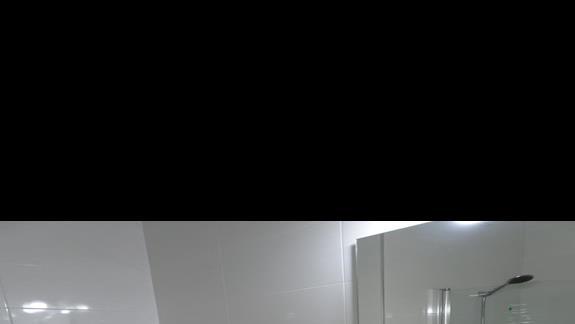 łazienka w pokoju standardowym  w hotelu Alexandra