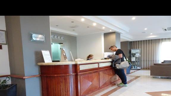 recepcja w hotelu Plaza