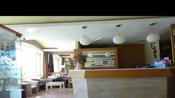 recepcja w hotelu Coral