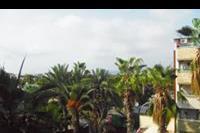 Hotel Palmeras Beach - Widok z pokoju od strony miasta