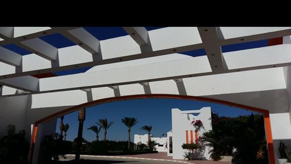 wejście do hotelu Fantazia Resort