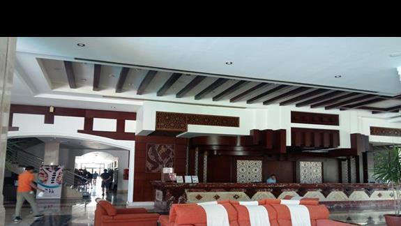 recepcja hotelu Fantazia Resort