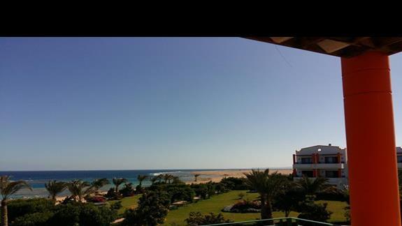 wisok z pokoju w hotelu Fantazia Resort