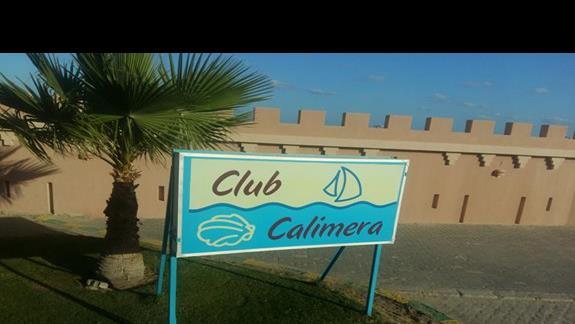 wejście do hotelu Calimera Club Akassia Swiss Resort