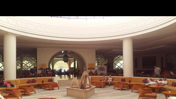 hol w hotelu Hilton Marsa Alam Nubian Resort