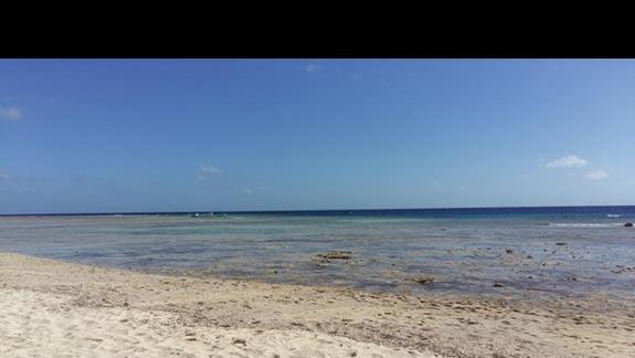 plaża w hotelu Hilton Marsa Alam Nubian Resort