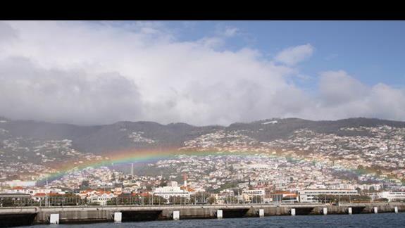Tęcza nad Funchal