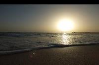 Hotel Red Sea Port Ghalib Resort - Zachód słońca z plaży hotelowej