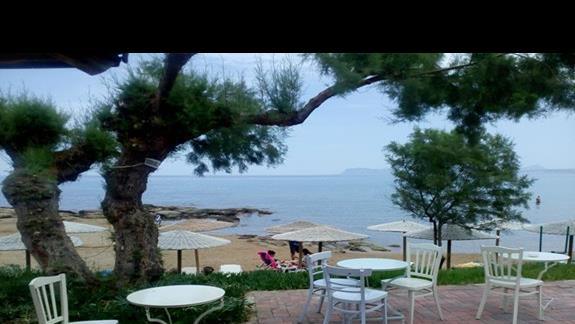 Widok z restauracji Marina