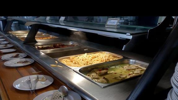 Obiad w restauracji Marina