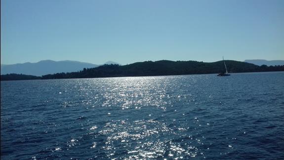 widok na wyspę scorpio